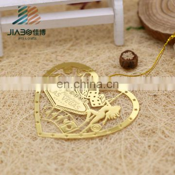 high quality metal custom angel bookmark for wholesale