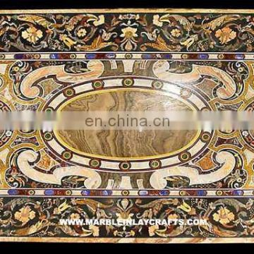 Pietra Dura Marble Dining Table Top