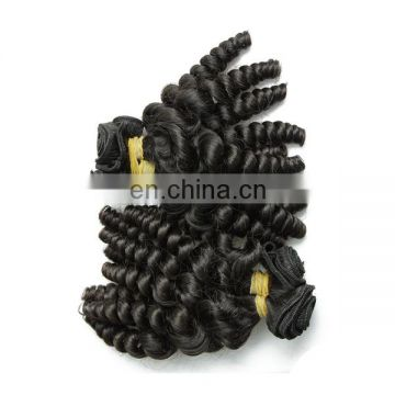 Wholesale price 7A virgin malaysian baby curl human hair weave