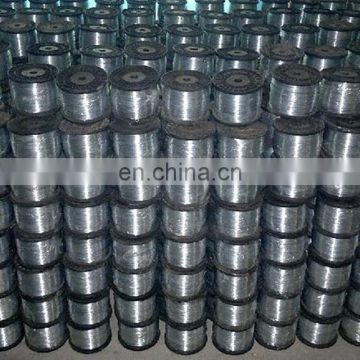 In spool galvanized hot dipped iron wire 0.13mm 0.19mm