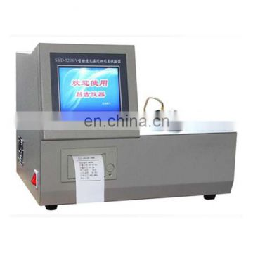 HSY-5208 fast low temperature closed flash point tester