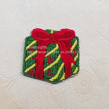 Christmas gifts embroidery patches,Custom Christmas Gifts Patch Embroidery Supplier In China,Patches,Embroidered patches