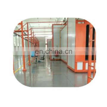Excellent color powder coating line for doors and windows