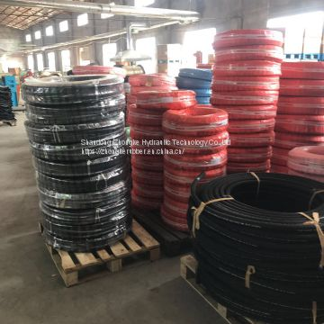 Best Factory Price Retail 100m steel wire braided SAE 1/4'' rubber hydraulic hose high pressure
