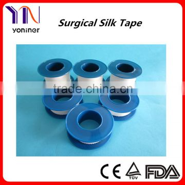 manufacturer CE FDA ISO Medical adhesive silk tape Acetate cloth
