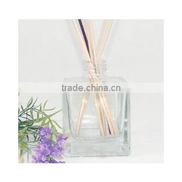 100ML/250ml square Glass Aroma Bottle perfume bottle glass reed diffuser bottle with sticks