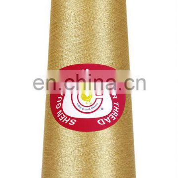 Pure gold metallic thread for embroidery