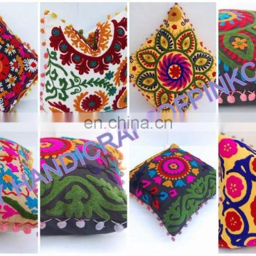 5 PCS wholesale lot of suzani embroidered Cushion cover