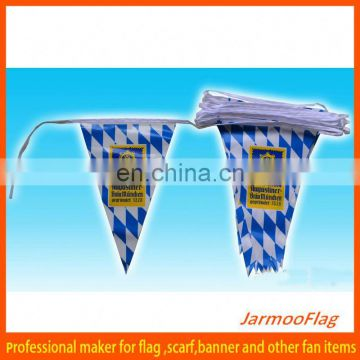custom double sided flags and bunting