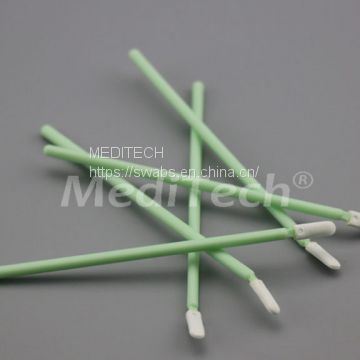 FLEXIBLE TIP FOAM SWAB WITH PLASTIC HANDLE FS746