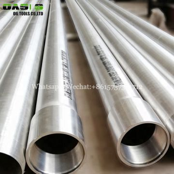 9 5/8 inch stainless steel 316L water well casing pipe for oil well K55 N80 Q125