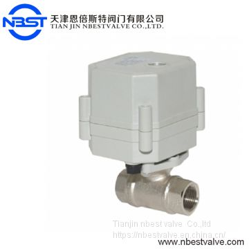 Nickel Coated Brass Automatic Control Valve 3/4''