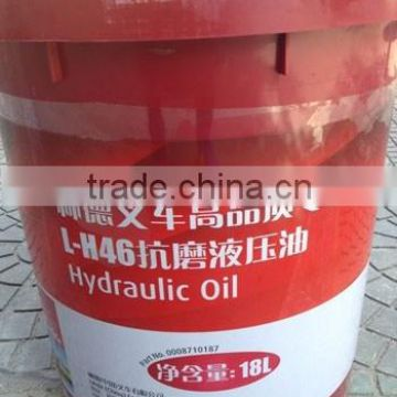 High quality hydraulic oil H46 18L 0008710187 spare part for Linde electric forklift truck