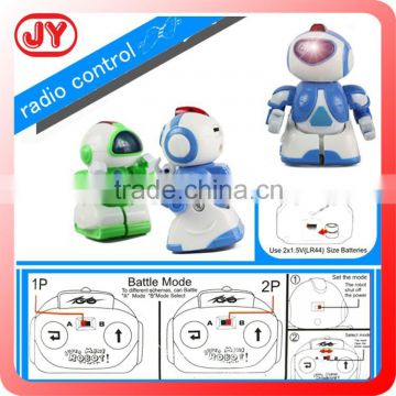 2015 hot sale R/C robot intelligent with light&sound