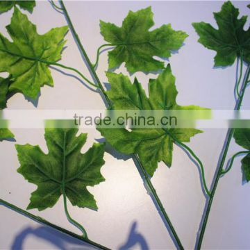Home and outdoor garden table wedding christmas decoration 60cm or 2ft Height artificial colorfully maple leaf E06 0602