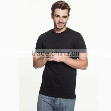 Stylish men short sleeve cheap tee shirt