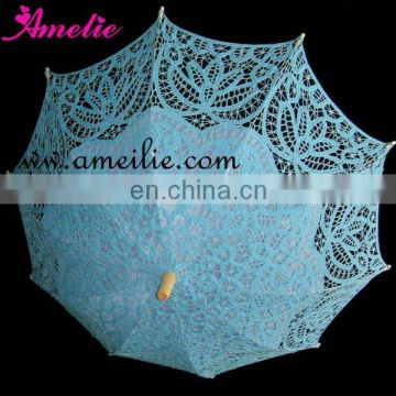 Battenburg lace wedding decorative umbrella
