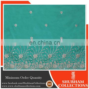 8478a98012a43b Crystal Stones Bead Work Nigerian Silk George Fabric Wrapper With Blouse  SM00209 of George from China Suppliers - 158151056