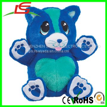 Stuffed Animal Berry Blue Kitty Fun Secret Heart Ball Pet