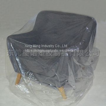 LDPE Moving And Storage Sofa Bag Plastic Chair Cover