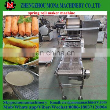 Automatic Spring Roll Sheet Forming Machine / Spring Roll Pastry Production Line / Spring Roll Making Line