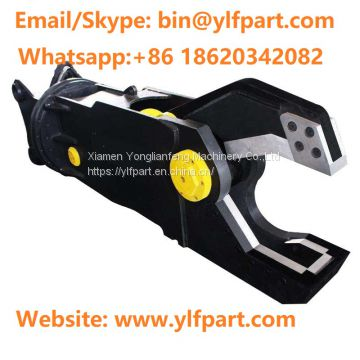 Excavator attachment Hydraulic Pulverizer Demolition Shear Metal Cutters scrap metal shear for sale