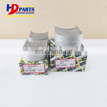 6D20 6D22 Main And Con Rod Bearing Engine Bearing STD