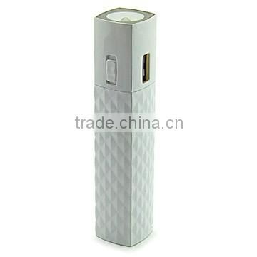 2600mah power bank external mobile power bank 2600mah manual for power bank cheap for IPhone/samsung glaxy