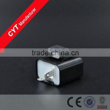 CYT 12V 2 Pin Motorcycle Universal LED Turn Signal Indicator Flasher Relay