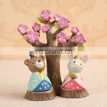 beautiful small decoration figure for photo props