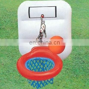 pvc inflatable basketball goal