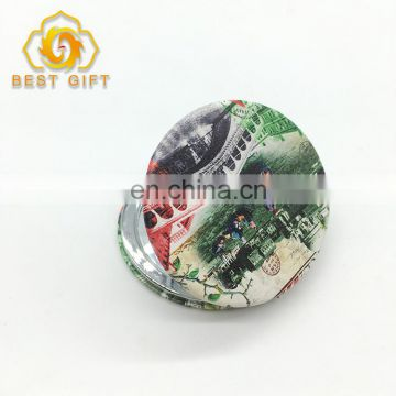 Good Quality 70mm Size Round Shape Compact Mirror