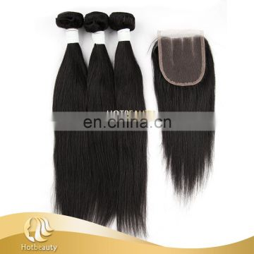 Hotsale Non Remy Double Drawn Hair Indian, Natural Wave.