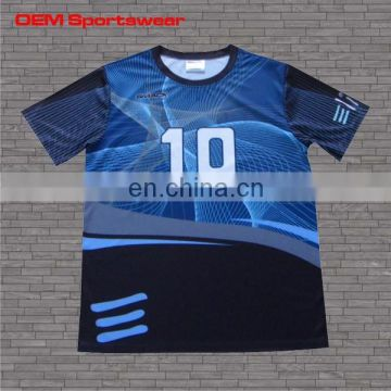 Printing polyester sublimated basketball shooting shirts