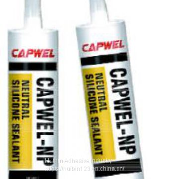 CAPWEL-NP neutral silicone weather-proof adhesive
