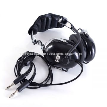 """YISHENG""brand YS-FXY-01 double plug pilot Aviation Headset"