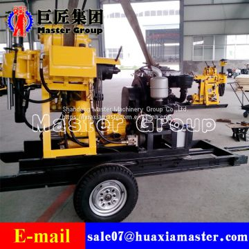 XYD-200 Crawler Water Well Drilling Rig depth of 200m