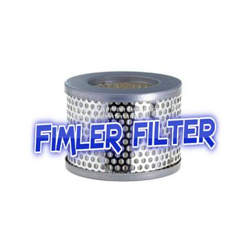Replacement Vacuum Pump Dust filter cartridge DF 16-25, 140117S
