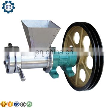 Hot Popular cereal grain flour puffing machine/puffed millet rice corn powder