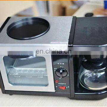 New design and fashionable appearance 3 in 1 breakfast making machine multifunctional breakfast maker