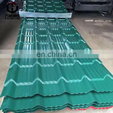 Corrugated roofing sheet Building materials prepainted coil zinc steel