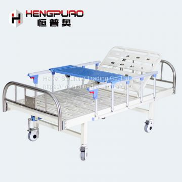 elder care equipment cheap adjustable simple patient hospital bed for sale