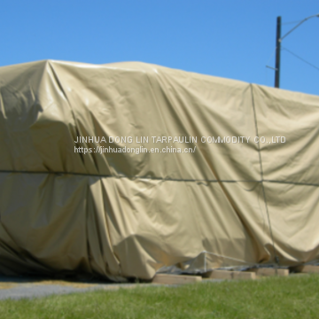 Waterproof Camping Tarps Anti-static Blackout For Side Curtain System