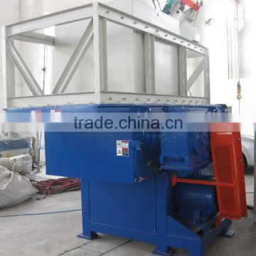 plastic shredder machine single shaft double shaft shredder
