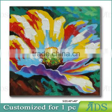 Manufactory Direct Sell Modern Flower Oil Painting
