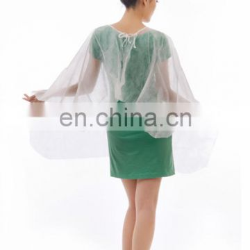 Disposable barber cape customized barber cape for hair salon