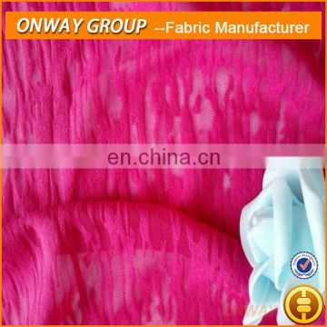 CHINA textile polyester Acrylic knit fabric for garment