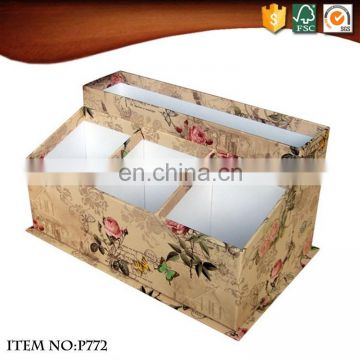 China supplier pen storage box stationery items list