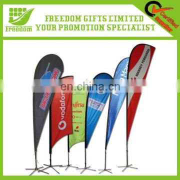 Advertising Logo Branded Display Feather Banner