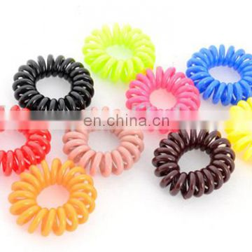 Hot popular colorful candy color girls elastic hair bands